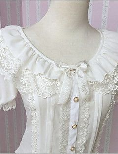 Sweet Lolita White Blouse
