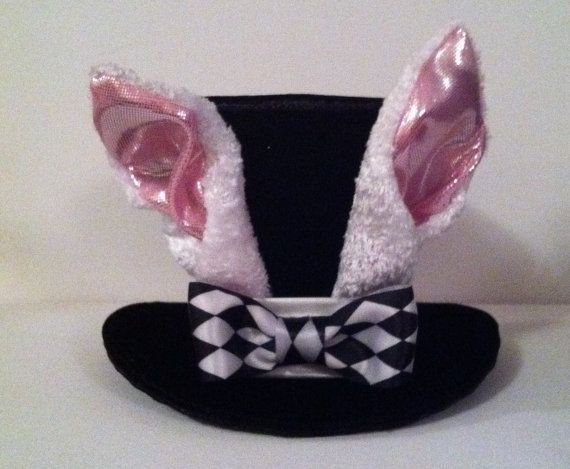 Etsy dog hat. Would make a cute Alice in Wonderland hat for a dog dressing up as the white rabbit or march hare!