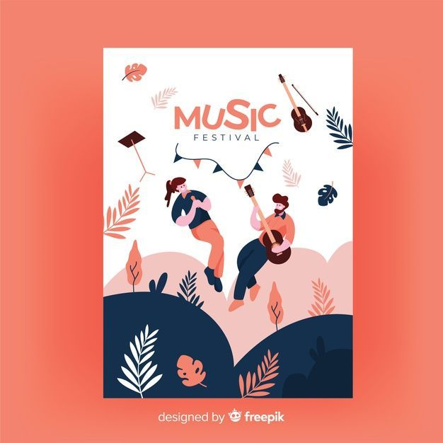 Posters Template Illustrations Posters In 2020 Music Poster Design Event Poster Design Music Festival Poster