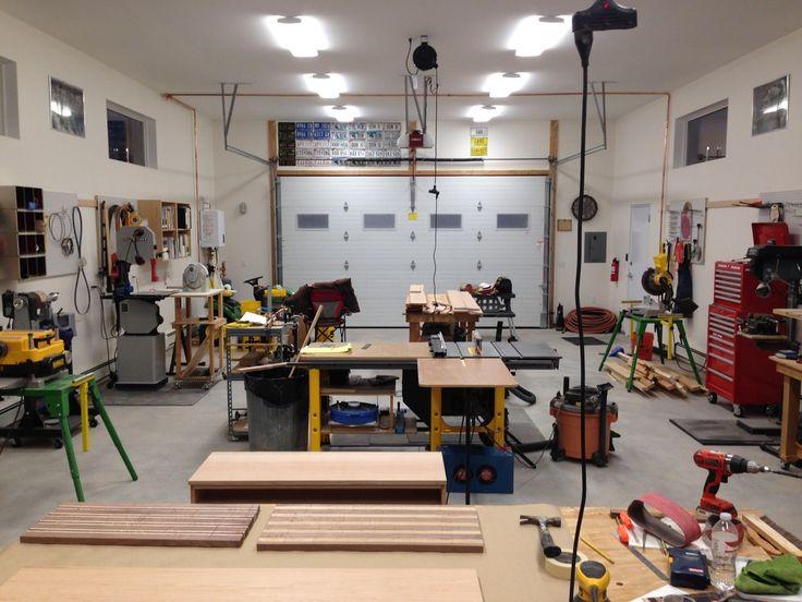 205 best images about garage workshop on pinterest for Garages and workshops
