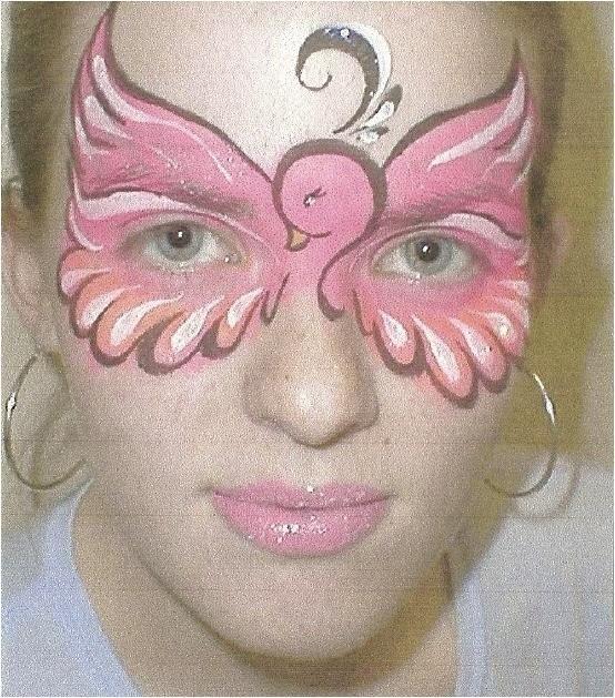 flamingo: Birds Costumes, Paintings Eye, Clowns Faces, Bing Image, Pink Birds, Flamingos Faces Paintings, Eye Masks, Clown Faces, Birds Faces Paintings
