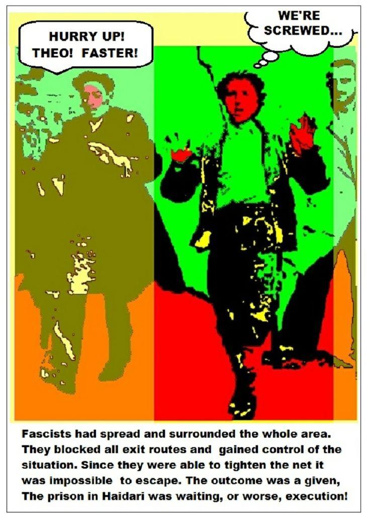 Theo was captured by nazi collaborators 1943