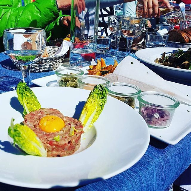 Fabulous lunches on the mountain!⠀  ⠀