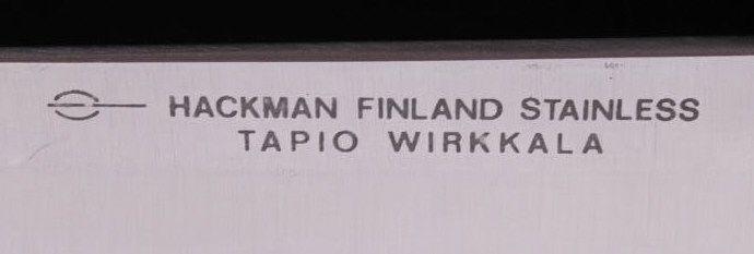 Hackman Puukko Knife Tapio Wirkkala Knife 1960's