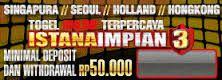 BANDAR ONLINE TERPERCAYA: ISTANA3 | ISTANAIMPIAN3 SITUS TOGEL ONLINE TERPERC...