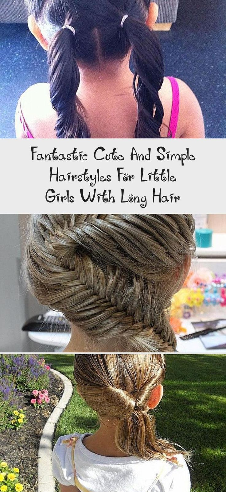fantastic cute and simple hairstyles for little girls with