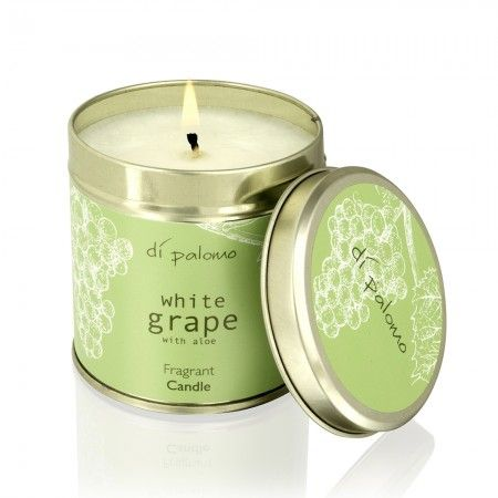 White Grape Fragrant Candle Tin - White Grape - Collections