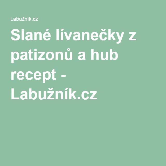 Slané lívanečky z patizonů a hub recept - Labužník.cz