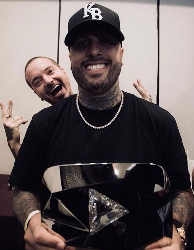J Balvin And Nicky Jam Record Producer Gorgeous Men Daddy Yankee