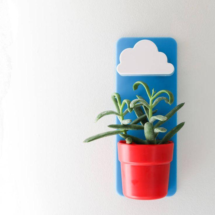 Rainy Pot #Plant #pot #cloud