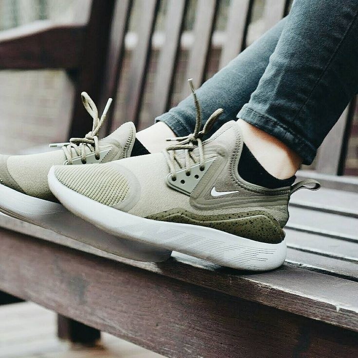 Nike Lunarcharge with skinnies.
