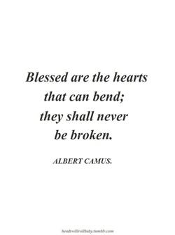 ribs  Bénis soient les coeurs qui peuvent fléchir, ils ne seront jamais brisés.  Heureux les cœurs qui peuvent plier, ils ne doivent jamais être brisée