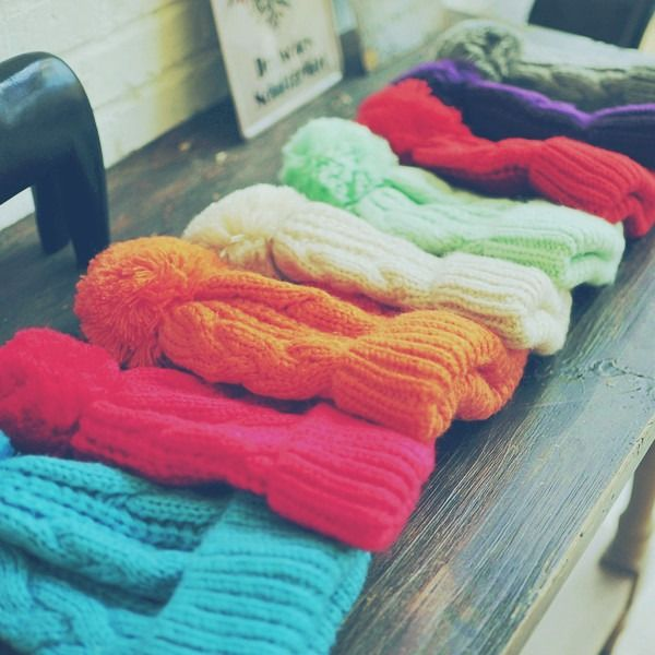 Cute 'n' Colorful Beanies.