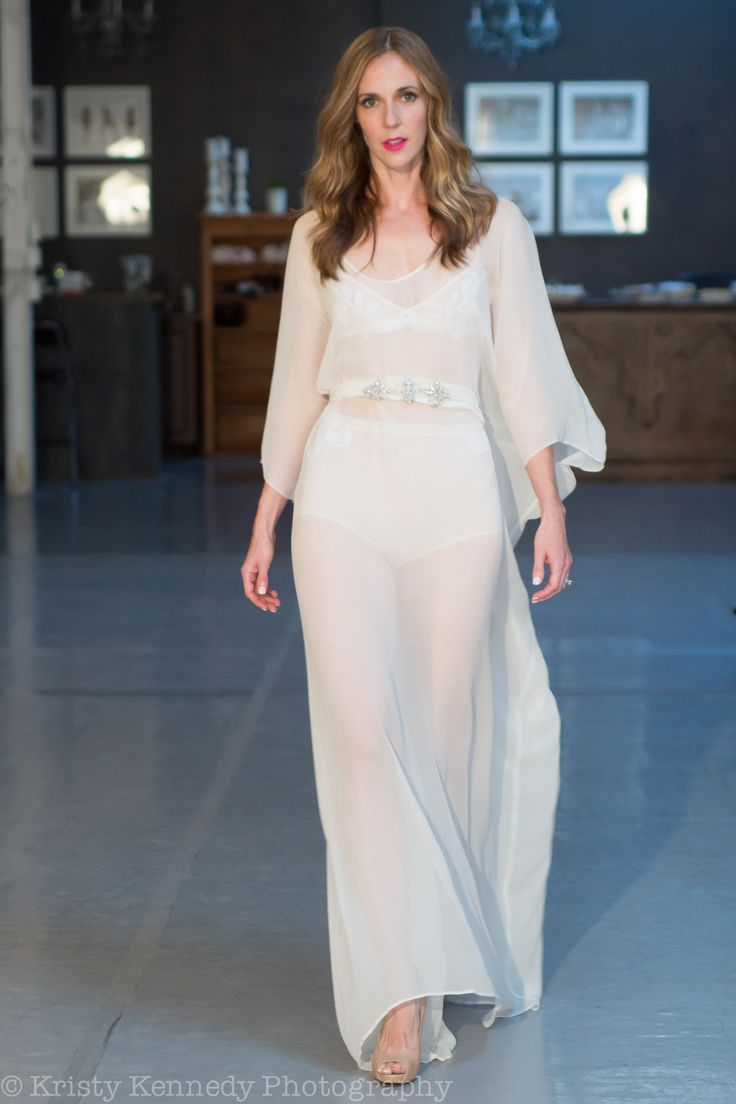 RUNWAY: The Gwen caftan is perfect for a destination bride. andforlove.com