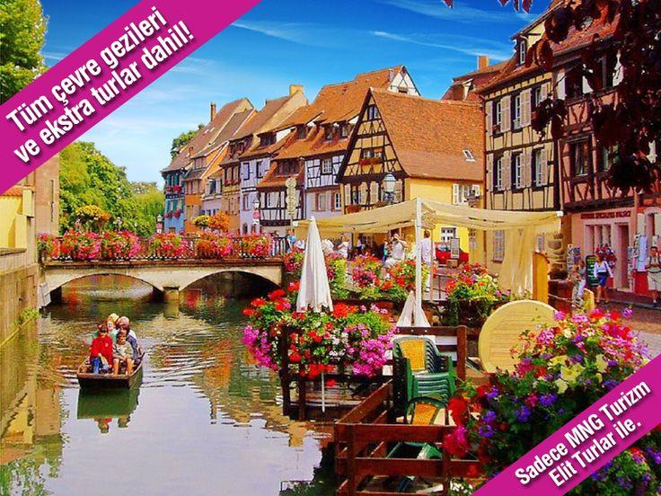Alsace'ın muhteşem manzaraları seni bekliyor! Tüm ekstra turlar ve çevre gezileri dahil Fransa - Almanya Turu sadece MNG Turizm Elit Turlar ile…  bit.ly/MNGTurizm-fransa-almanya-turu-s