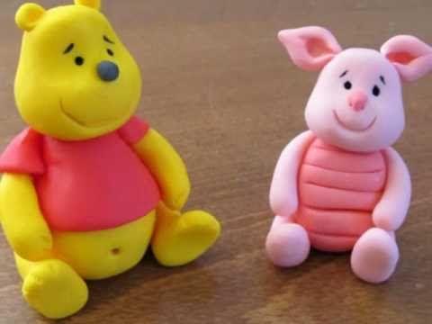 Winnie the Pooh - fondant tutorial