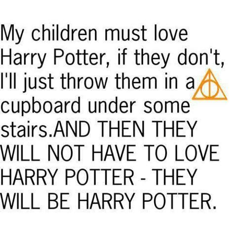 They will be Harry Potter ;)