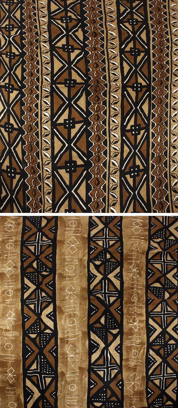 Authentic Large Mudcloth Fabric Hand Painted Mudcloth Perfect For Making Home Decor Wall Hangings Rugs An African Pattern Design Mud Cloth African Pattern