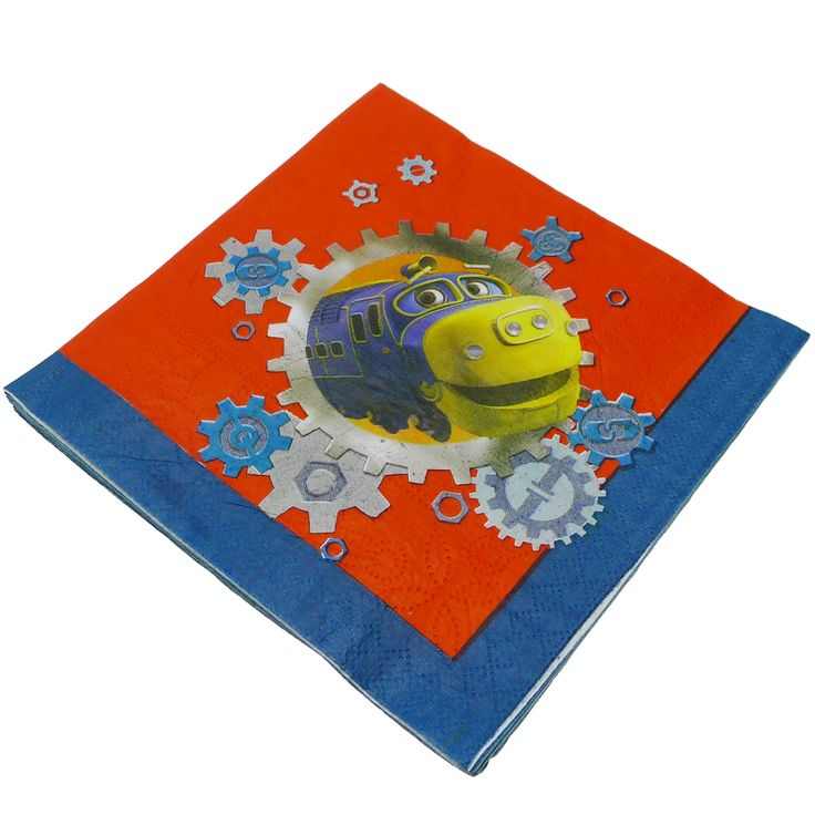 Chuggington Party Napkins : The Party Cupboard : Online Party Supplies Store Australia