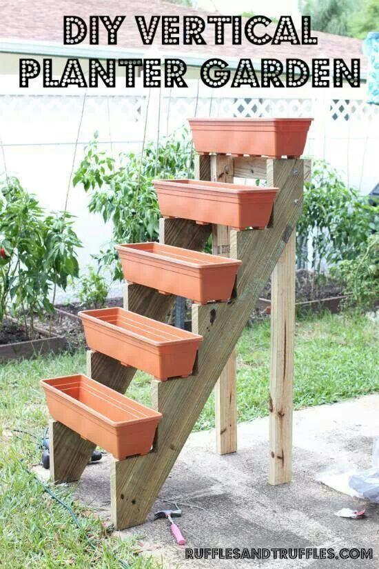 More vertical garden ideas...