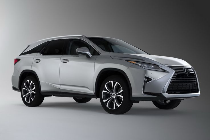 2018 Lexus RXL Gives RX Owners The Third Row They've Been Yearning For
