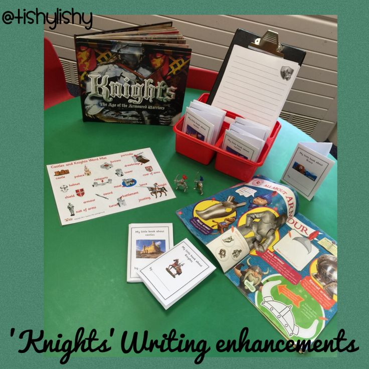 Writing enhancements linked to Knights.