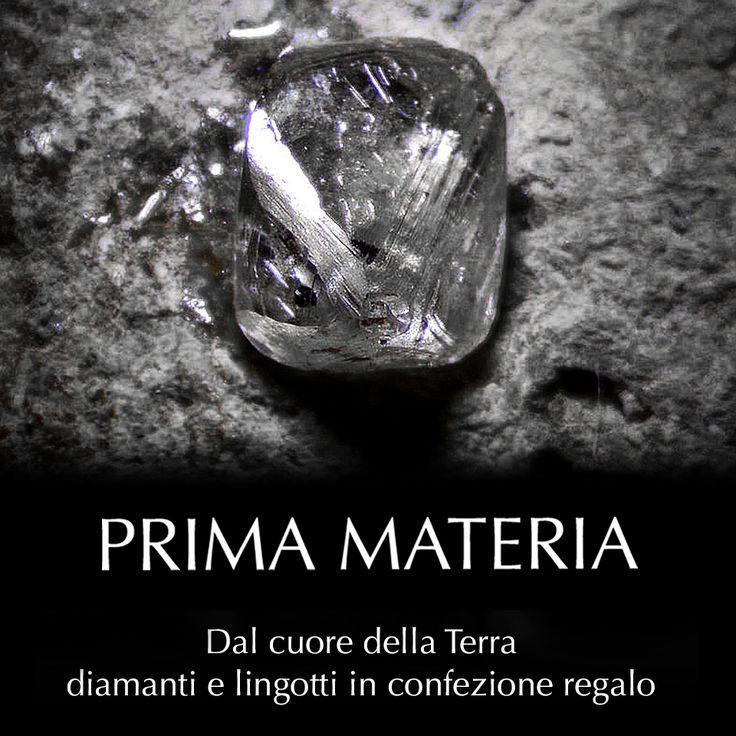 Prima Materia - Oro in lingotti e diamanti in blister Scopri le collezioni su https://moreadonato.itcportale.it/