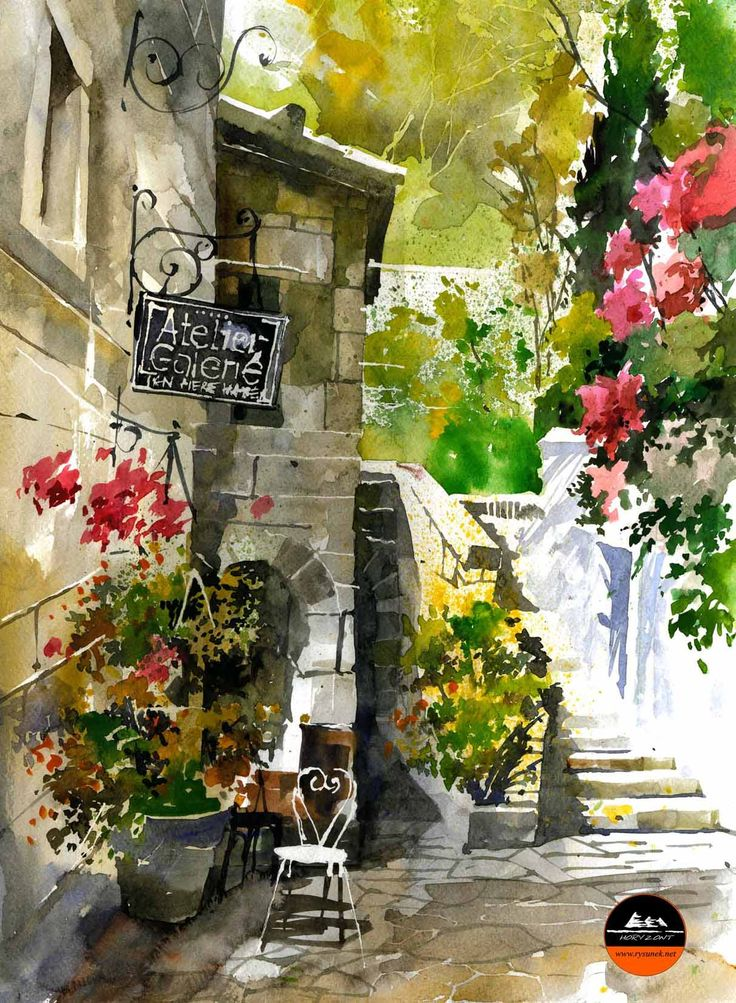 Provence autor: Olek Zalewski Horyzont