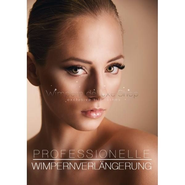 Toller Look mit Wimpernextensions