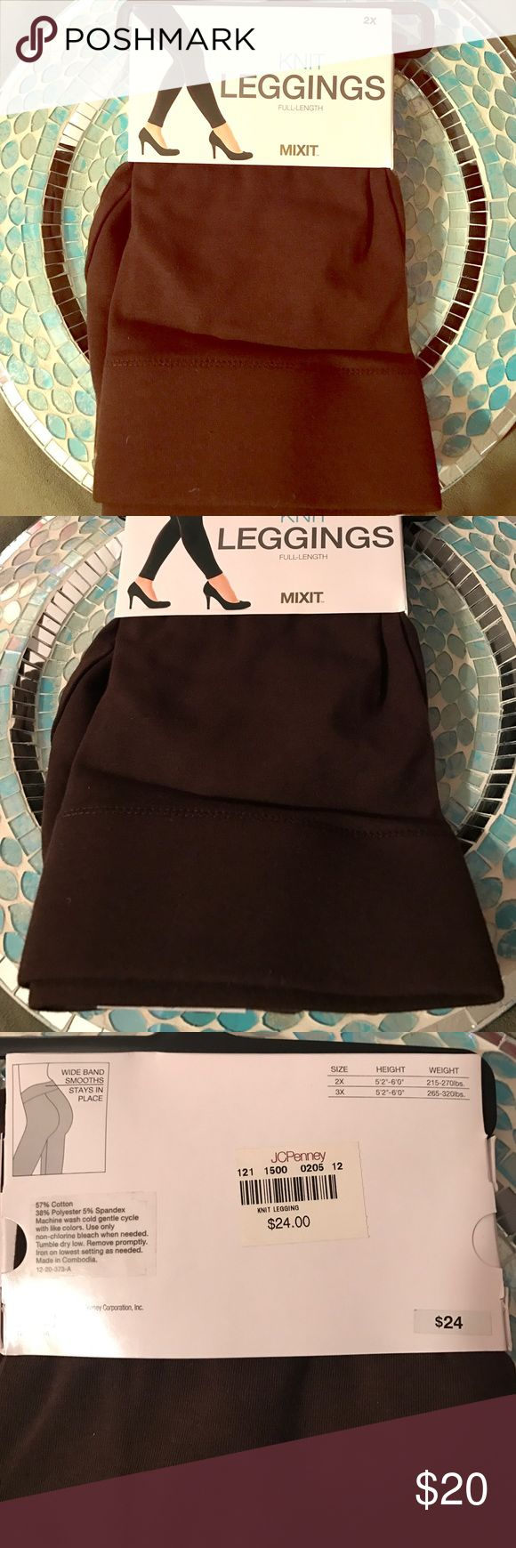 💃🏼NWT Plus Size Brown Leggings 💃🏼 Ever get tired of wearing the same ol black leggings all the time (or everyday, no judgement here 😜). Well, switch it up and try these fabulous brown leggings out! Full length, super soft and stretchy material, 57% cotton, 38% polyester, 5% Spandex. Wide band for maximum comfort and smoothness, these will stay in place! I own three pairs of black leggings and one brown from this brand, they're FABULOUS! Super high quality! Bundle and SAVE💜💜 Pants…
