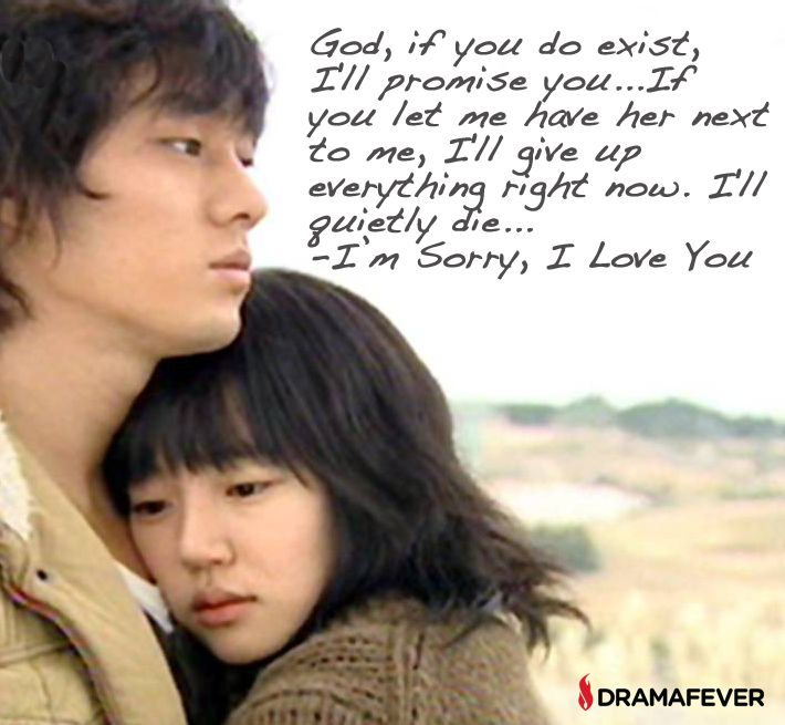 Quotes About Love Korean Drama : ... love i m sorry sorry my love drama quotes drama series i love you love