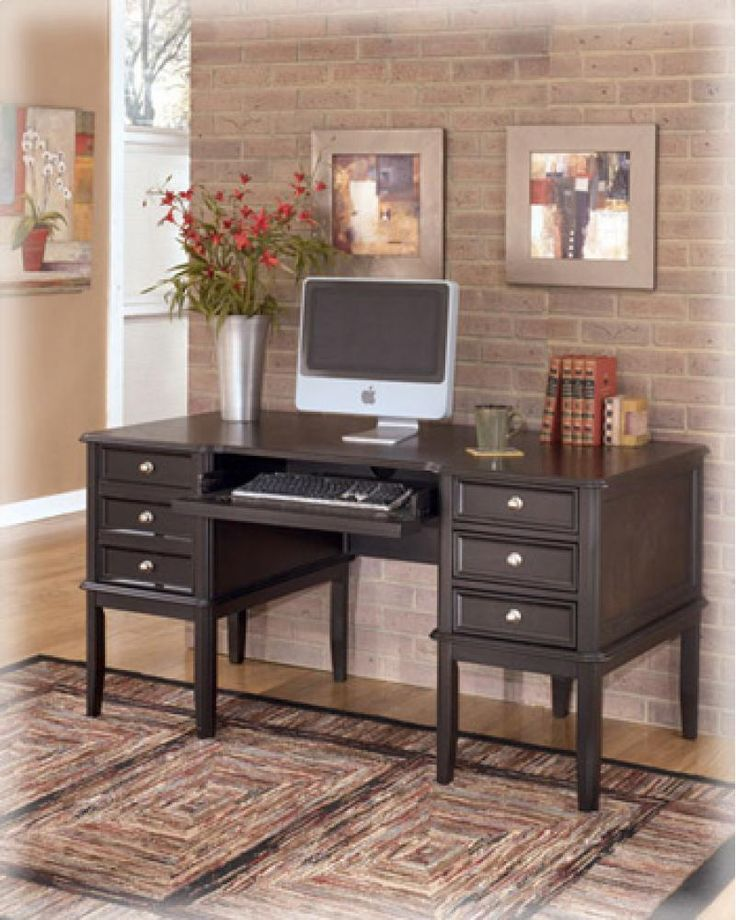 H37127 in by Ashley Furniture in Metairie, LA - Home Office Desk
