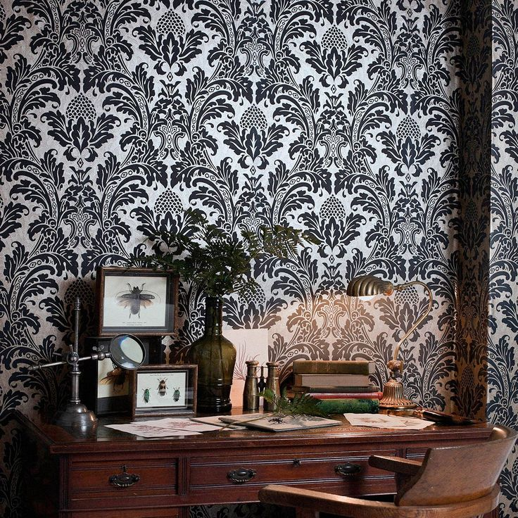 This Beautiful Blake Wallpaper From Cole And Son Is A Classic Surface  Printed Damask Wallpaper. Nice Design