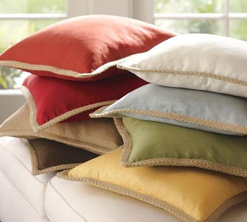 Jute Braid Pillow Cover | Pottery Barn $29Pillows Covers, Decor Ideas, Pillows Ideas, Living Room, Jute Braids, Pillow Covers, Braids Pillows, Barns Lookalikes, Pottery Barns