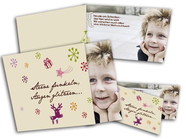 Weihnachtskarten+-+Schneeflocke