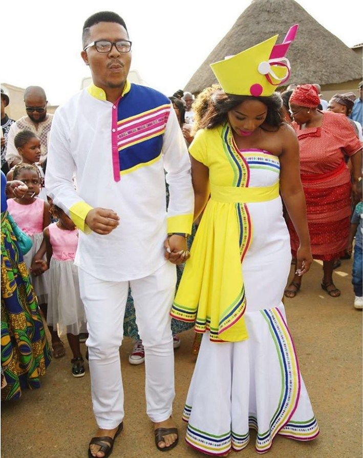 South African Designers Traditional Dresses 2019 • stylish