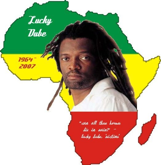 I have learned so much from you, Lucky Dube