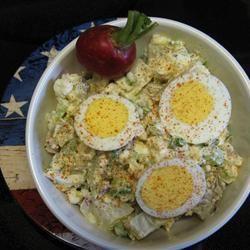 Salade de patates au fromage cottage @ qc.allrecipes.ca