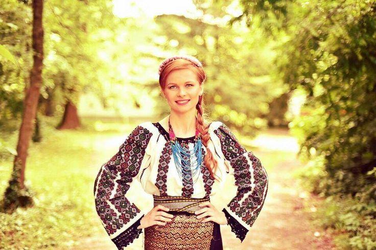 Romanian girl,Maramures