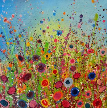 Yvonne Coomber, I feel cheerfulness settling into my chest when I'm drawn into this simple, pretty array