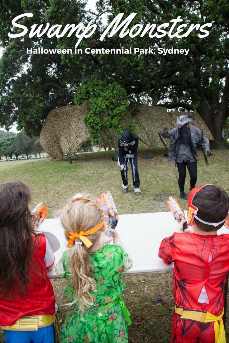 Swamp Monsters: Halloween in Centennial Park, Sydney