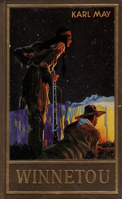 Karl Mays Bücher über Winnetou band 1-3