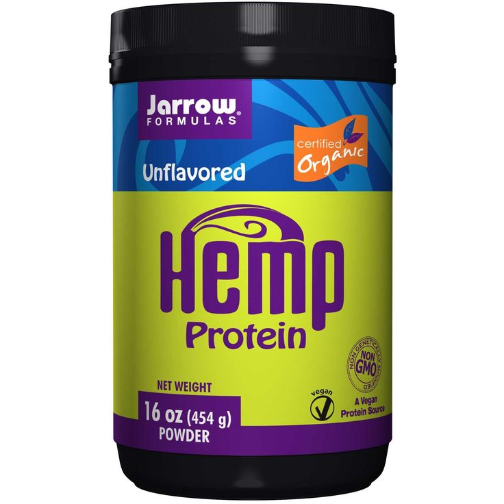 Jarrow Formulas, Hemp Protein Powder, Unflavored, 16 oz (454 g)