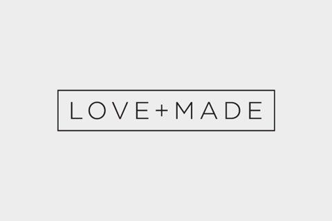 Love + Made - clean and simple