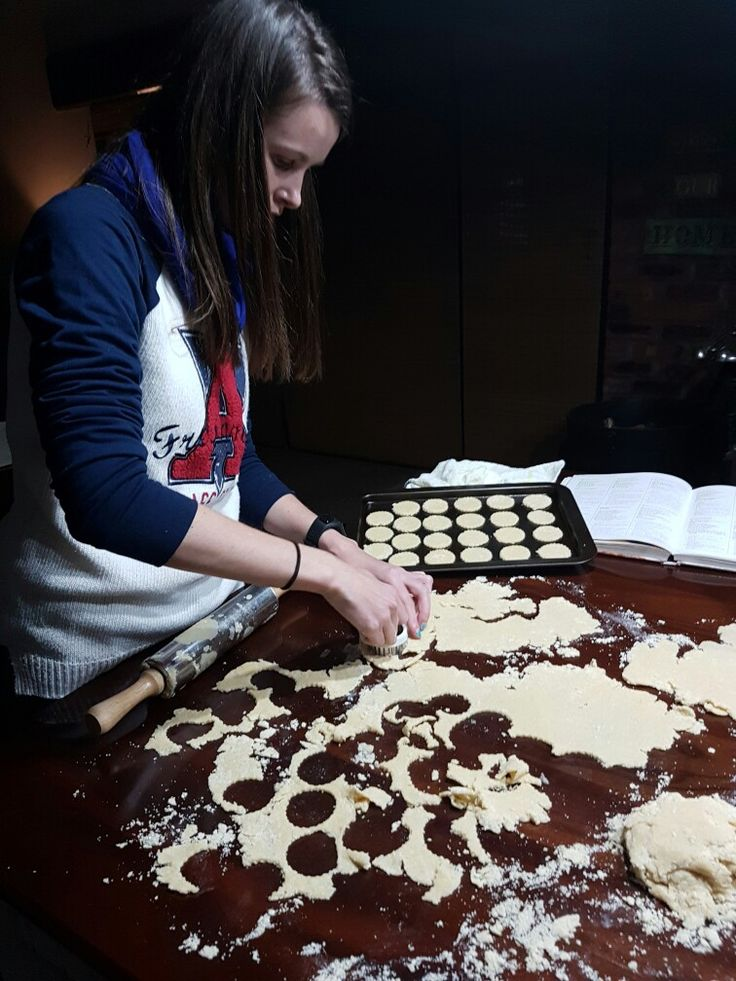 Baking Tea Cookies! Follow the link down below to see my blog post about a very easy recipe to bake White Cookies. Happy Baking! XXX