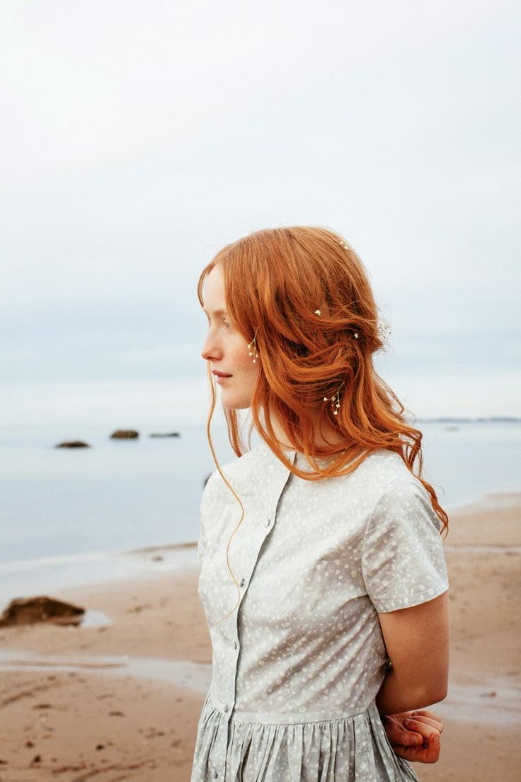 Nadinoo: Amber Mahoney for Betty Magazine #GingerHairInspiration
