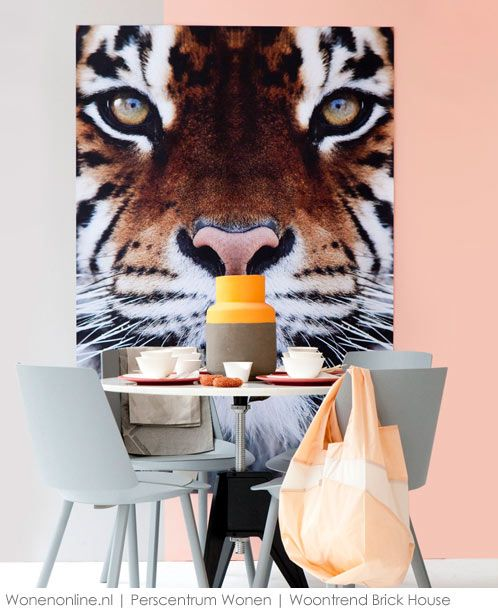 obsessed with animal art! bring the wild inside! <3