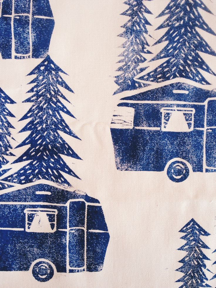 Block printed at the Lichen & Leaf block printing workshop! http://lichenandleaf.com/pages/workshops