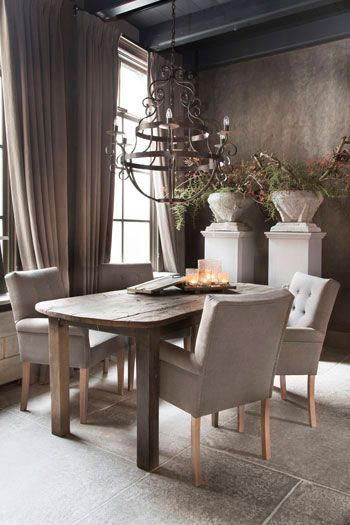 *woonkamer Wonen landelijke stijl bij Hoffz