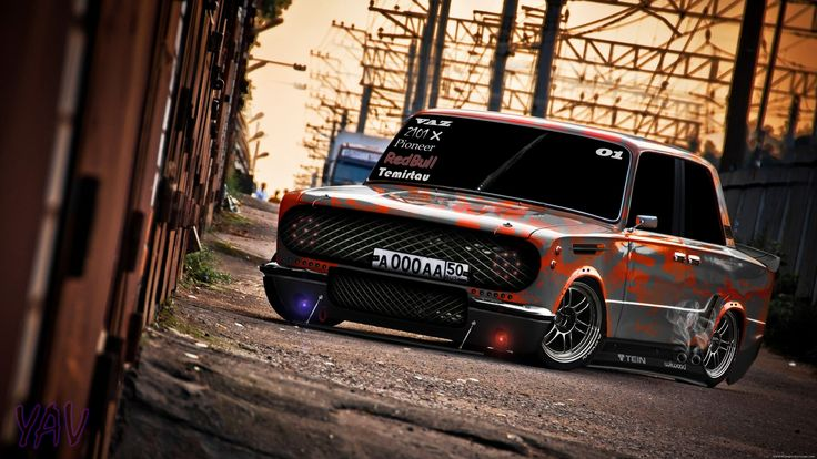 Amazing Tuning Of An Old Car HD Wallpaper